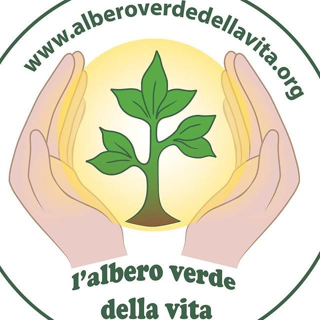 l'albero verde della vita logo