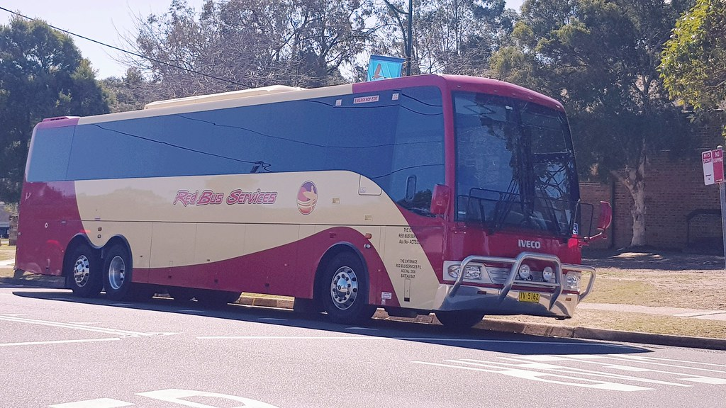 Red Bus Services of The Entrance NSW, in Glenbrook NSW