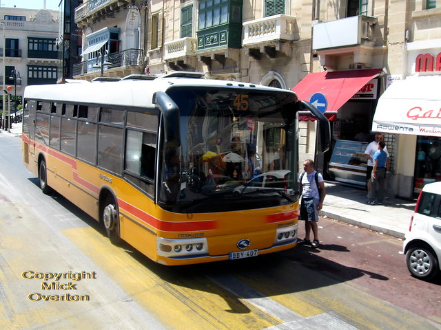 2003 King Long DBY407 route 45 Malta 27.6.2011