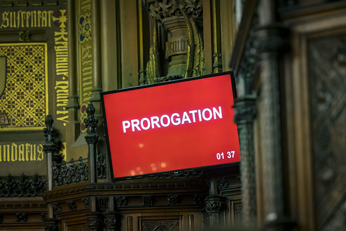 Prorogation in the House of Lords | by UK Parliament