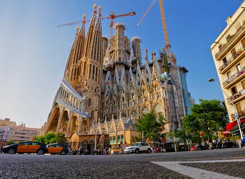 European Union, Spain, Barcelona, Sagrada de Familia | July 2019