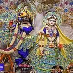 Hare Krishna Temple Ahmedabad Deity Darshan 10 Sep 2019