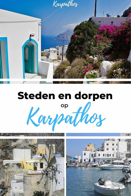 Steden en dorpen op Karpathos | Ontdek Karpathos, Griekenland