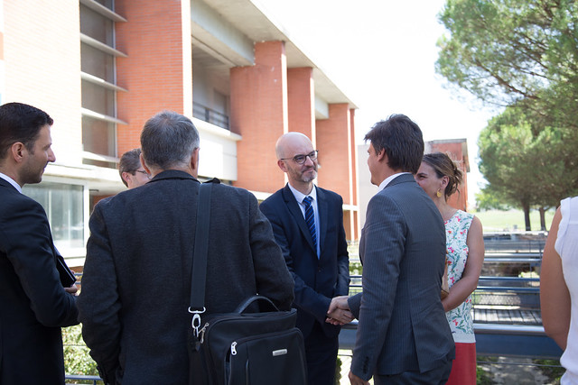Visite de rentrée, Collège Claude Cornac, 3 sept. 2019