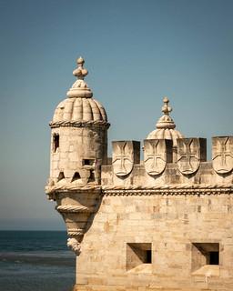 Lissabon; Torre de Belem.