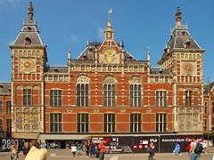Amsterdam Central Station Facade
