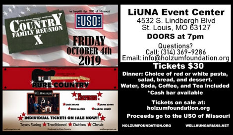 Country Family Reunion 10-4-19