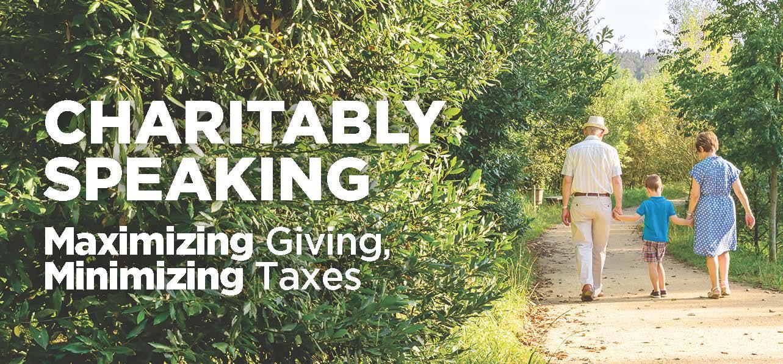 Charitably Speaking