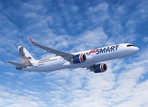 JetSMART A321XLR (Airbus)