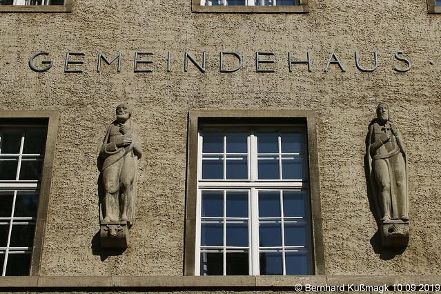 Europa, Deutschland, Berlin, Tempelhof-Schöneberg, Tempelhof, Kaiserin-Augusta-Straße, Evangelische Kirchengemeinde Alt-Tempelhof, Gemeindehaus