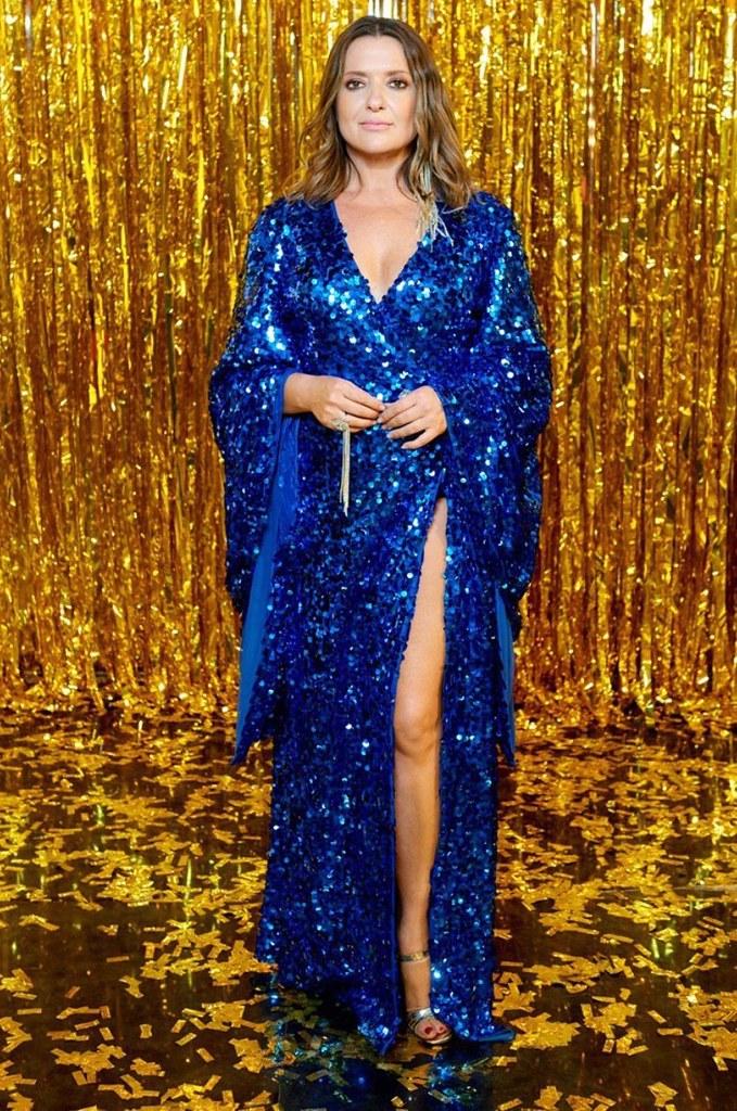 Наталья Могилевская в платье Dafna May