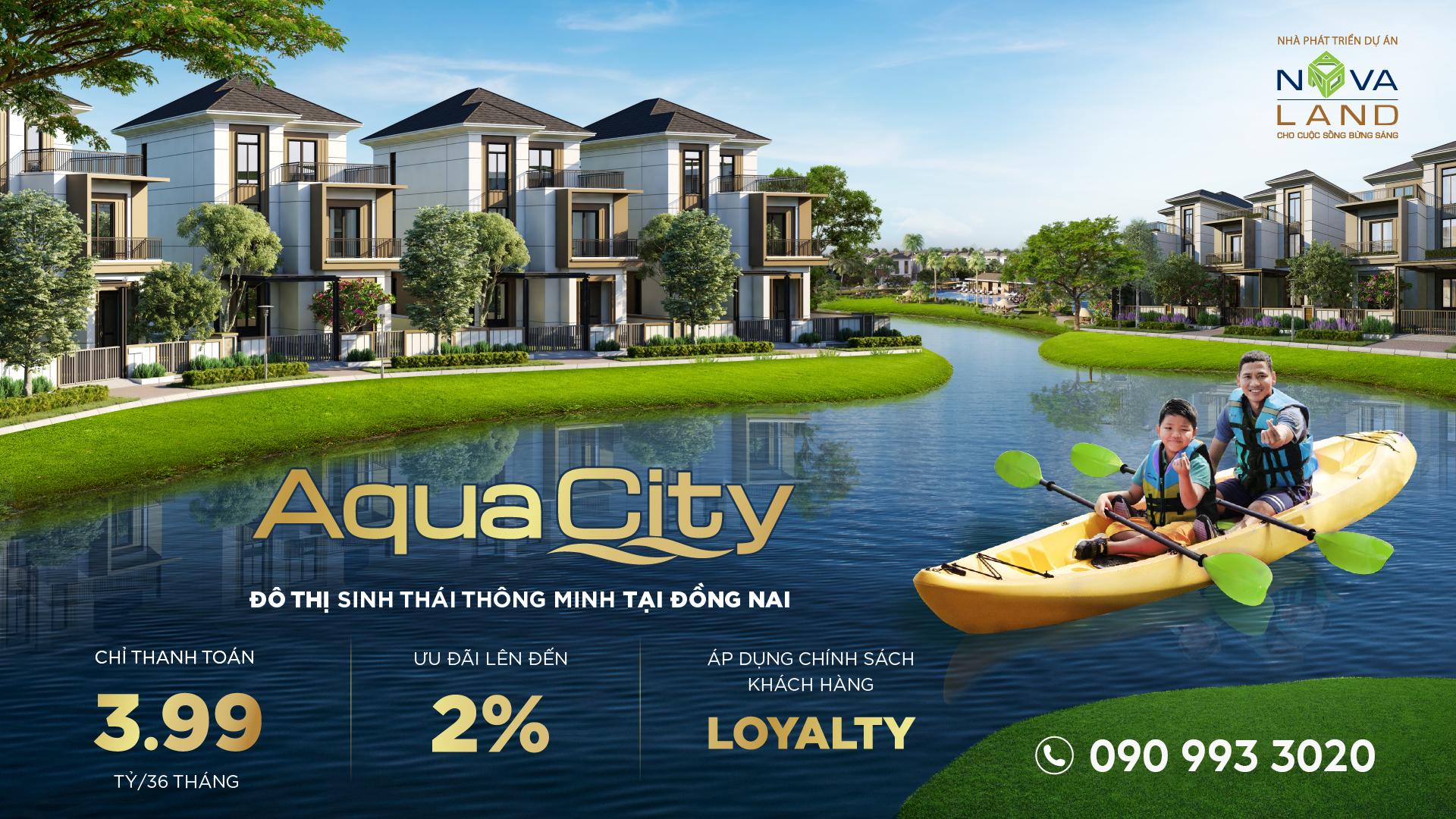 Sở hữu biệt thự 300m2 giai đoạn 2 Aqua City với nhiều ưu đãi lớn.