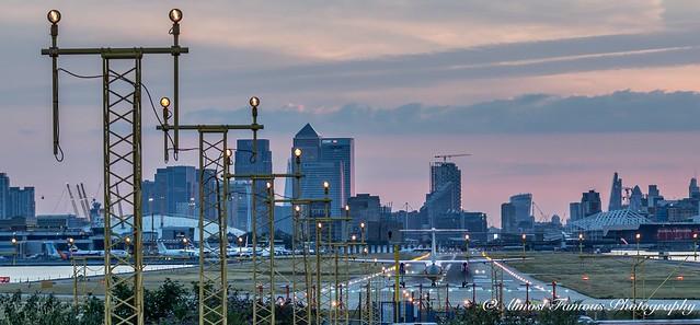 London City Airport.... 2015