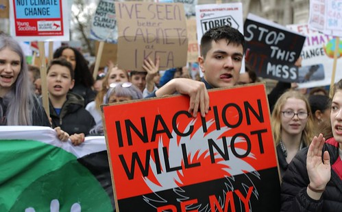 UK Student Climate Network placards_DOTY 2019