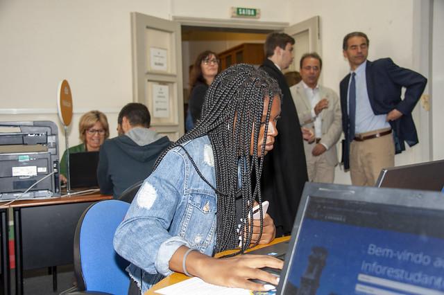 Visita do Ministro Manuel Heitor à UC