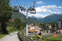 Lanovky v rakouském Imstu