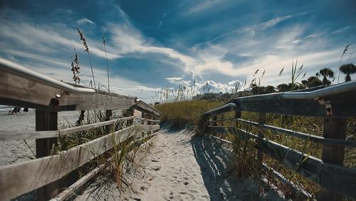 myrtlebeach southcarolina usa nikon nikkor nikond750 nikkor2470mmf28 beach sky sun sunshine summer landscape clouds travel travelphotography luminar3 luminar