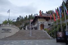 L'ingresso delle grotte di Postumia
