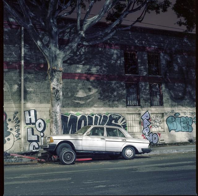 Stranded Benz