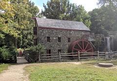 Grist Mill, Wayside Inn, Sudbury MA September 2019