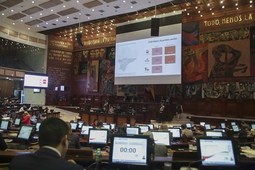 CONTINUACIÓN DE LA SESIÓN NO. 611 DEL PLENO DE LA ASAMBLEA NACIONAL.  QUITO,  10 DE SEPTIEMBRE DEL 2019