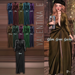 NEW! Valentina E. Glam Gown Gacha @ The Arcade!
