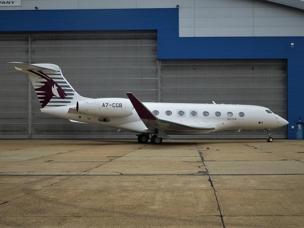 A7-CGB : Gulfstream 650