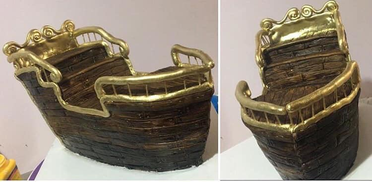 Ship Cake by Karalyn Galante