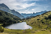 Little Lake in Montafon Alps