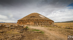 The Royal mausoleum-temple of Imedghassen,  Boumia (Batna - Algeria)