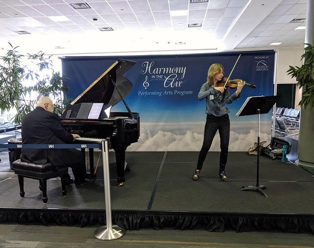 Harmony in the Air, George Bush Airport Houston, TX