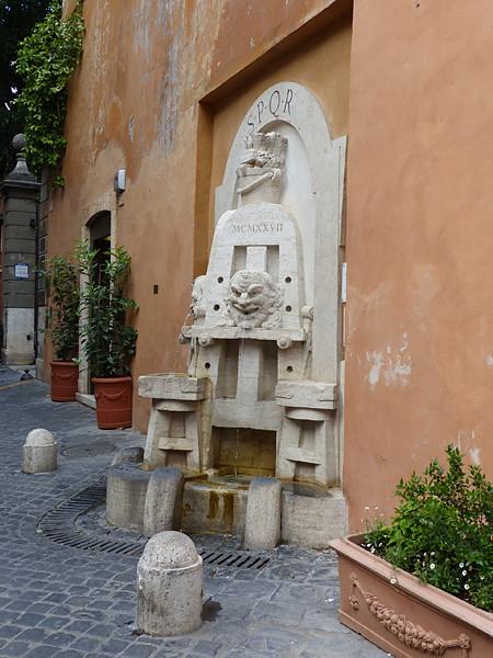 fontaine des arts