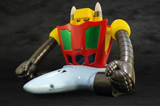 海中的絕對王者!EVOLUTION TOY 大尺寸軟膠系列《蓋特機器人》蓋特 3 號(GRAND SOFVI BIGSIZE MODEL ゲッター3)
