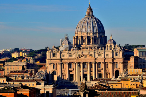 stpetersbasilica vatican rome travel architecture
