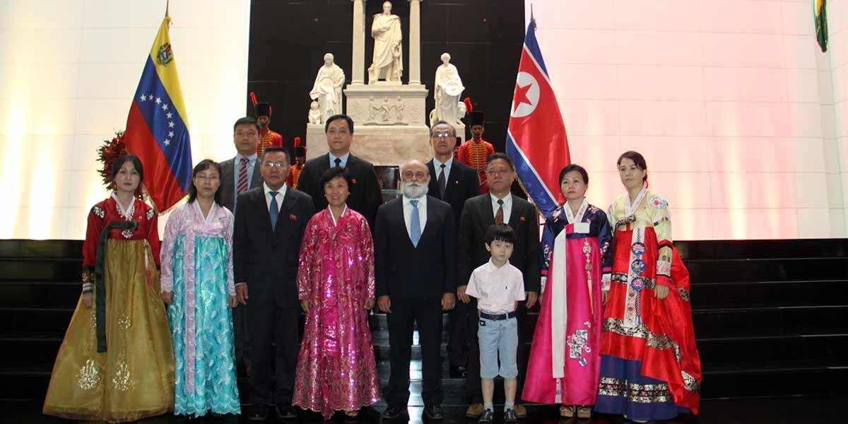 Embajada de la República Popular Democrática de Corea en Venezuela conmemora el 71° aniversario de su fundación