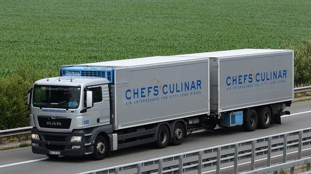 D - Chefs Culinar >190< MAN TGX XL