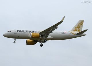 F-WWDI Airbus A320 Neo Gulf Air