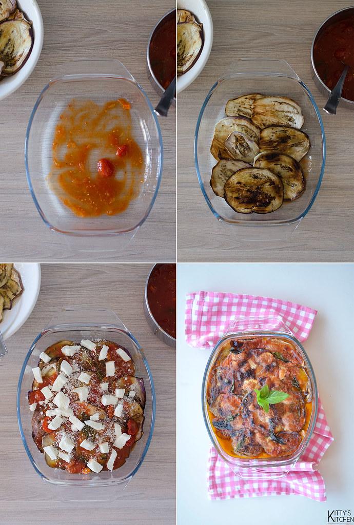 Parmigiana di melanzane alla griglia