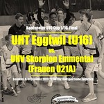 Junioren U16B - UHV Skorpion Emmental Bern Cup 1/16-Final Saison 2019/20