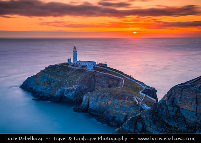 UK - Wales - Isle of Anglesey - Holyhead - South Stack Lighthouse