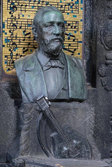 XE3F8767 - Aleksander Borodin (Александр Бородин), Tikhvin Cemetery (Saint Petersburg)