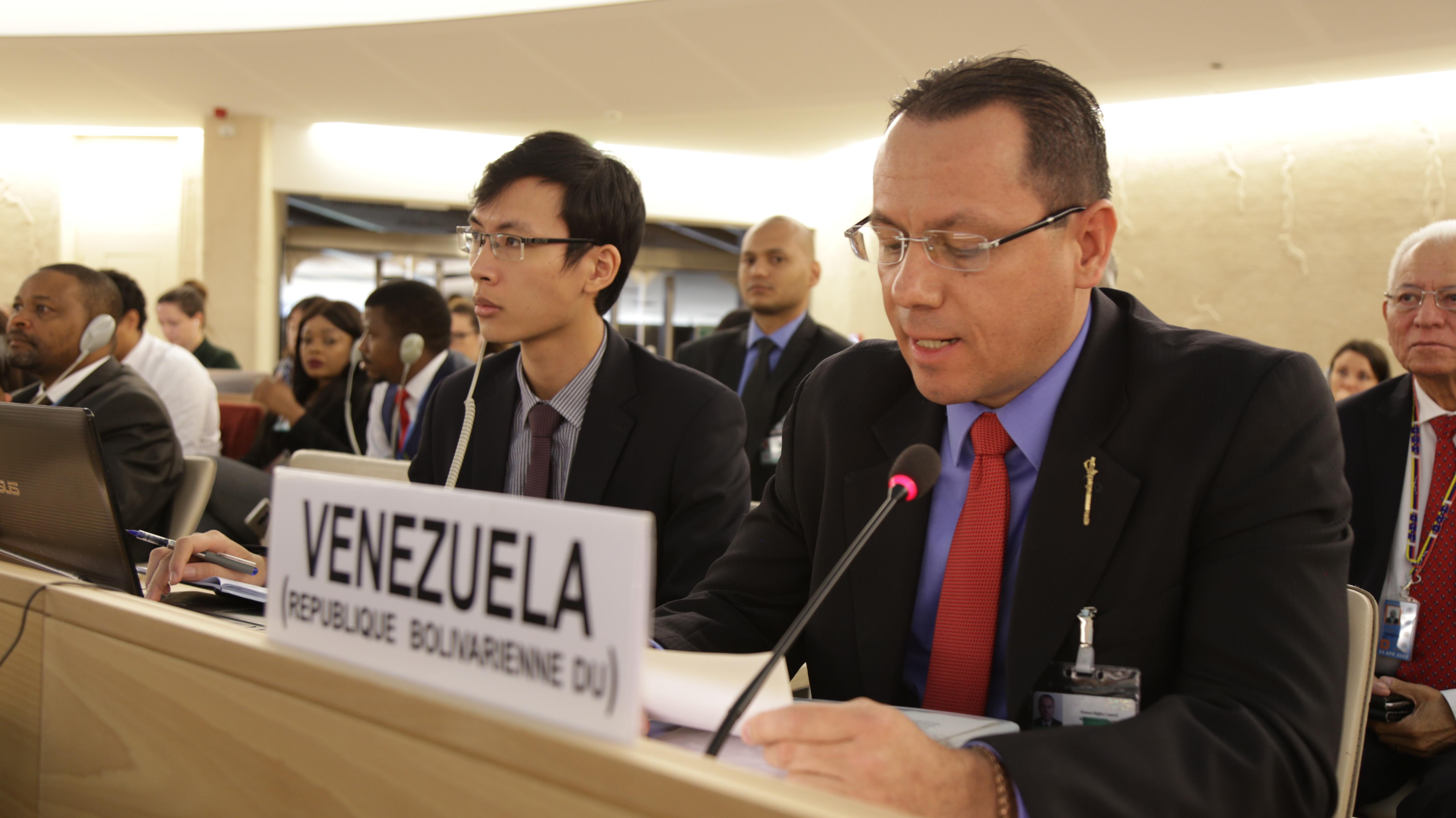 Venezuela responde al informe de la Alta Comisionada para los Derechos Humanos