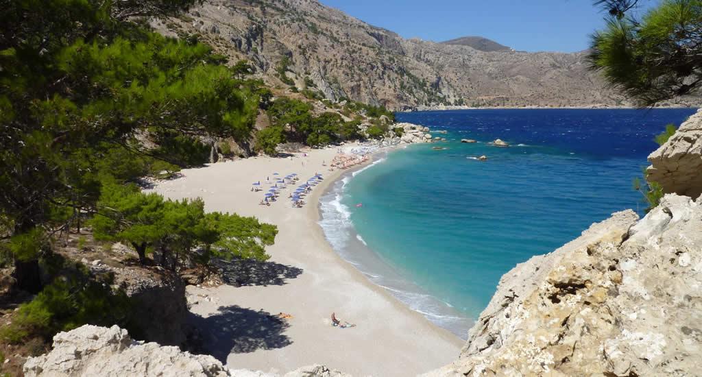 Bezienswaardigheden Karpathos: Apella beach | Vakantie Karpahos