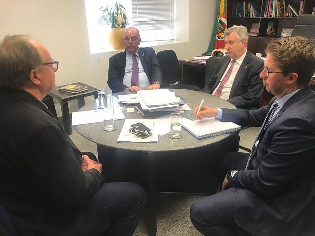 10/09/2019 Reunião Ministro Osmar Terra - Gabinete