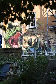 Muurschildering | Vrijstad Christiania