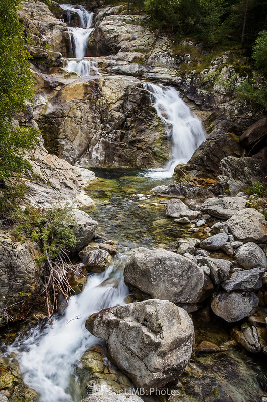 Cascada del Sant Esperit en el río Sant Nicolau