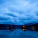 Blue hour at Redfish Lake