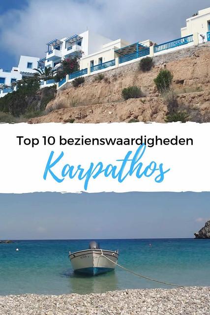Top 10 bezienswaardigheden Karpathos | Alle tips voor een vakantie Karpathos