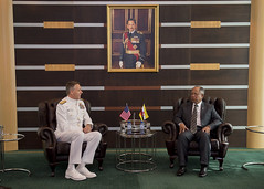 Commander U.S. Indo-Pacific Command meets with Brunei's Second Minister of Defence