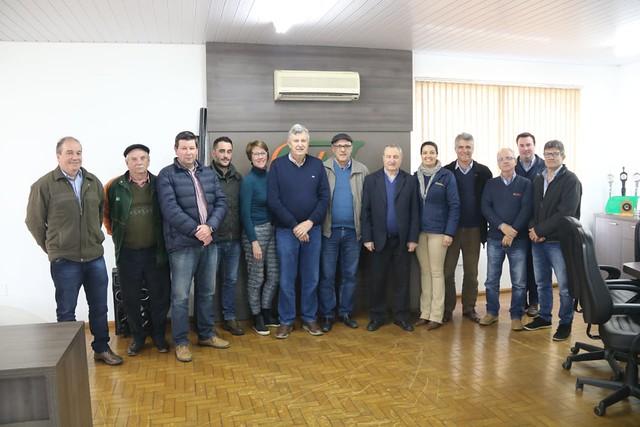 06/09/2019 Reunião na Cotrijuc - Júlio de Castilhos